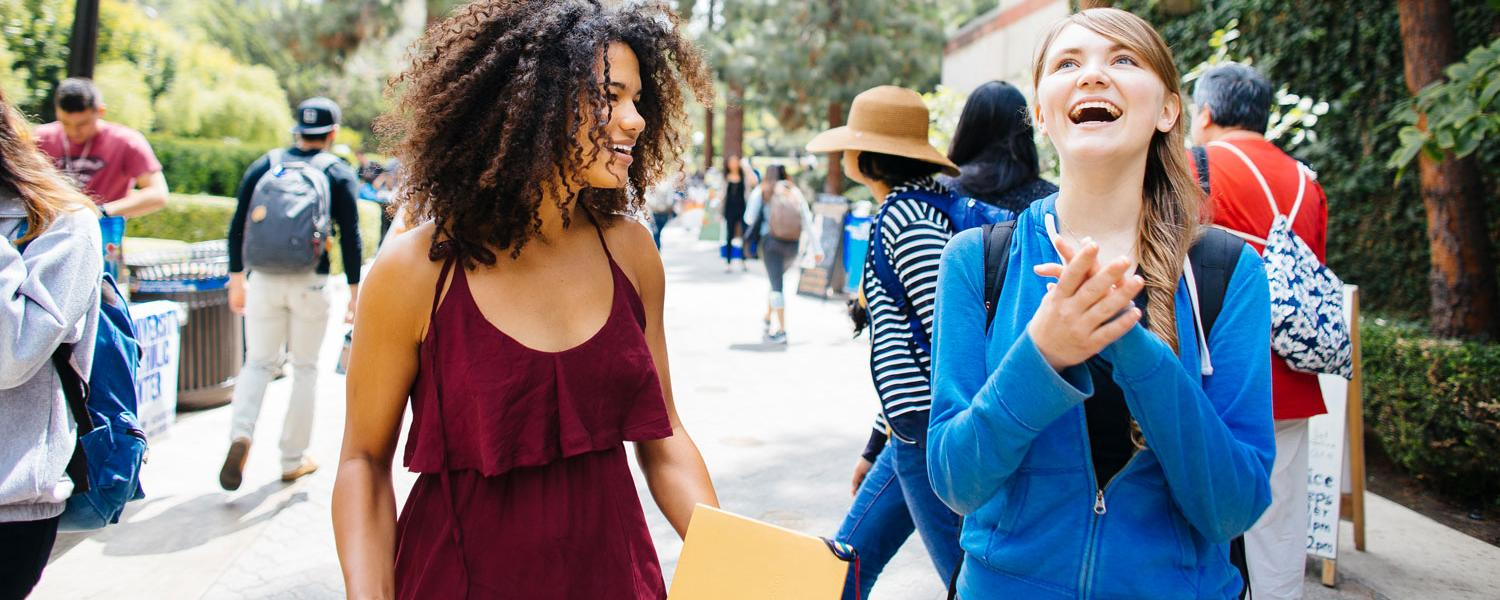 UCLA Image of two girls